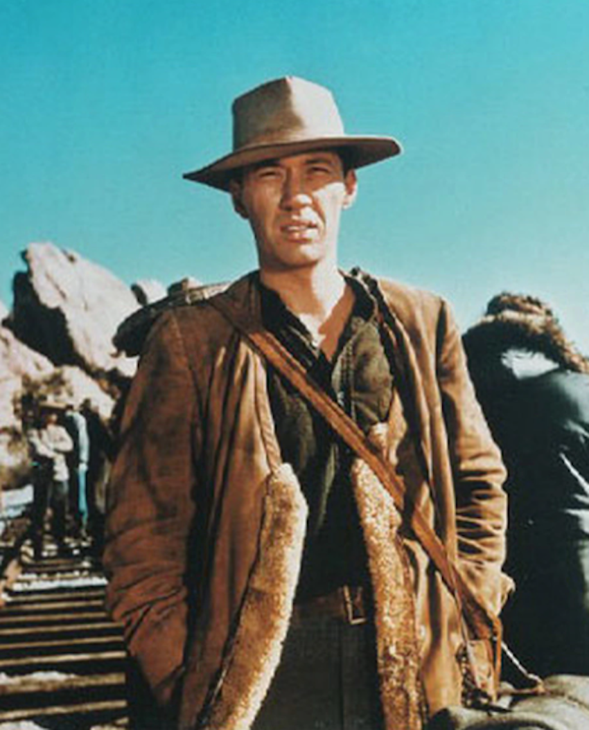 David Carradine als Kwai Chang Caine…